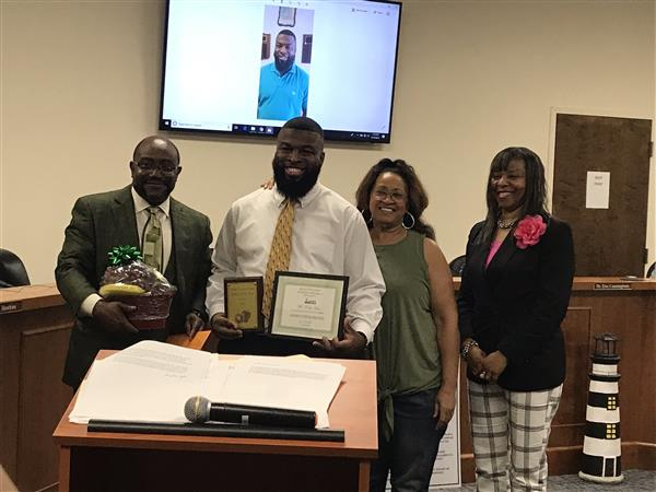 Mr. Roy Artis - District Employee of the Month for May