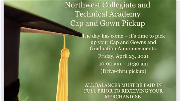 NCTA Cap and Gown Pickup