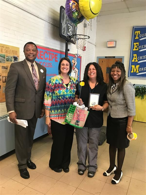 Halifax County Schools October Employee of the Month