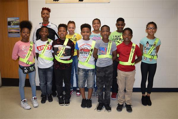Everetts School Safety Patrol Officers