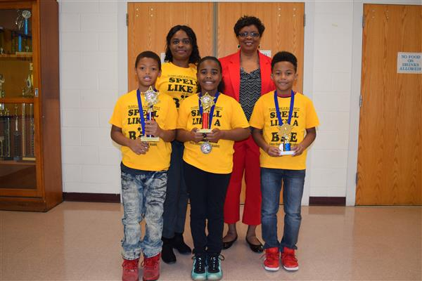 Congratulations to Tigers 2019 District Spelling Bee Winners