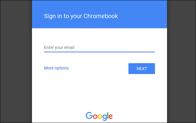 Chromebook Sign-on Instructions